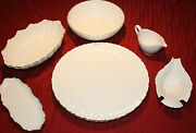 7 Piece Collection Of Special Lenox Serving Dishes