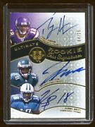 Percy Harvin Maclin Britt Ultimate Rc Auto /25 Triple Oncard Rc Autograph Hot