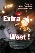 Extra West Nickel Plate Road Berkshire 765 Dvd New Nkpohio Steam Lima