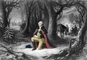15x20 Poster General George Washington's Prayer At Valley Forge, 1777