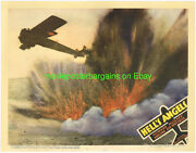 Helland039s Angels Lobby Card Size 11x14 Movie Poster Card1 R1937 Wwi Fighter Planes