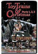 Toy Trains And Christmas Parts 1,2,3 Dvd New Lionel American Flyer Ives Marx Video