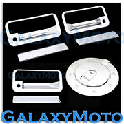 92-95 Chevy Blazer+95-99 Tahoe Chrome 2 Door Handle+w/ Psg Kh+tailgate+gas Cover