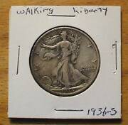 1936-s Silver Walking Liberty Half Dollar - 90 Silver