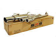 1993 1994 1995 1996 1997 Toyota Corolla Catback Exhaust System Stainless Steel