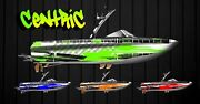 Custom Boat Wraps Graphics Wrap 20and039-22and039 Centric Wakeboard Centurion Tige Malibu