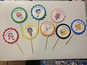 Bubble Guppies Thomas Train Mike The Knight Wubbzy Angry Birds Cupcake Toppers