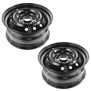 Dorman 16 Inch Steel Replacement Wheel Rim Pair For Nissan Altima New