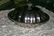 Lovely Andover Silver Company Silverplate Chilling Serving Bowl