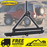 Smittybilt Src Classic Rear Bumper Hitch And Tire Carrier For 76-06 Jeep Wrangler