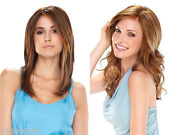 Spicy Mid Long Lace Front Mono Hand Tied Jon Renau Wavy Straight Wigs