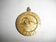 Vintage Sports Medal Harry J Moore League Swimming