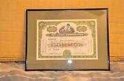 Lionel Corporation Stock Certificate Issued To Joshua L. Cowen