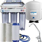 Reverse Osmosis Alkaline Remineralizer Water Filter System Large 5 Gallon Tank