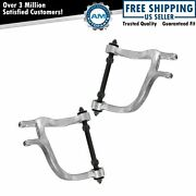 Rear Upper Control Arm Pair Set For Buick Chevy Olds Pontiac Saturn Suv Van
