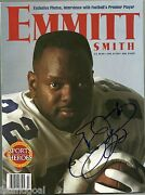 Emmitt Smith Signed Autographed 1996 Beckett Sports Heroes With Emmitt Inc Cert
