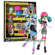 Year 2012 Monster High Roller Maze 10 Doll Ghoulia Yelps And Abbey Bominable