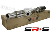 Jdm Srs Catback Exhaust 2004 2005 2006 2007 Mazda 3 4dr T-304 Srs Stainless St