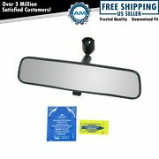 Universal Inner Inside Interior 10 Inch Rearview Rear View Mirror W/adhesive Kit