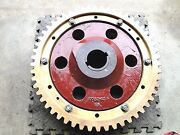 Large Brass Helical Worm Gear P0p0058702  24 Diameter  202lbs New