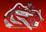 Banks Powerpack System 99-04 F250 F350 V10 - Headers Exhaust Ram Air