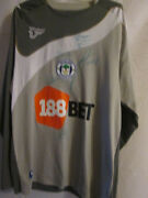 Wigan Athletic Goalkeeper Football Shirt Signed By 2009-10 Squad With Coa 14993