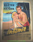 The Come On Movie Poster French 47x63 Sterling Hayden Anne Baxter - Grinsson Art