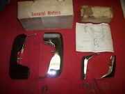 1973 Chevy Monte Carlo Nos Front And Rear Bumper Guards In Gm Boxes