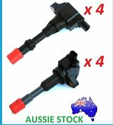 Ignition Coil Set Of 8 Inlet And Exhaust Side For Honda Civic 1.3l And Jazz Gd Ge 1.