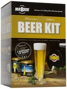 New Mr. Beer Premium Gold Edition Beer Kit Free Shipping