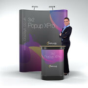 3x2 Curved Xpro Popup Exhibition Stand