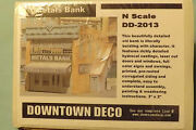 N Scale Downtown Deco Metals Bank Dd 2013
