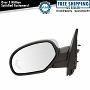 Mirror Power Folding Heated Memory Puddle Signal Chrome Left For Gm Pickup Suv