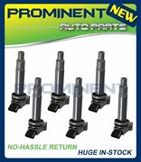 Set Of 6 Ignition Coils For 1998-06 Toyota Camry Avalon Lexus Es300 Rx300 Uf267
