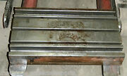 25.5 X 14.8 Steel Welding T-slotted Table Cast Iron Layout Plate T-slot