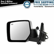 Mirror Power Heated Black Textured Driver Side Left Lh For 07-15 Jeep Patriot