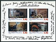 France Sc 2450 Yv Bl17 Imperforated Souvenir Sheet Mint Nh As Shown