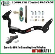 Fits 2005-2015 Nissan Xterra Class 3 Curt Trailer Hitch Package 2 Tow Receiver