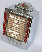 Brand New Push Buttons For Wurlitzer 3020 Wallbox Not For 1015 Jukebox