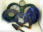 Se Blue Mini / Large Gold Classifier Screen And Gold Pan Panning Kit