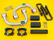 Steel Full Leveling Kit | Front 3 Rear 2.5 | Ford F-150 2009-2014 2wd