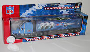Nfl Football Semi Truck Tractor Trailer Hauler Collectible Tennessee Titans