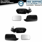 Mirror Power Heated Pair Left And Right For Bmw E46 323ci 328ci 325ci 330ci