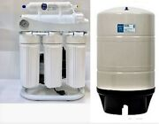 Ro Reverse Osmosis Water Filter System W/ Booster Pump- 400 Gpd - 20 Gallon Tank