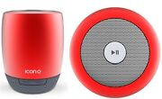 Iconq Bluetooth Speaker Portable Wireless Built-in Mic Rechargeable Speakerphone