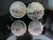 4 Coins From The Saddam Hussein Era - Au - Own A Piece Of Historyl 1981 Ad