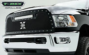 T-rex Torch Series Led Grille For '13-'18 Dodge Ram 2500 6314521 Black