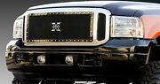 T-rex X-metal Series Grille 3 Piece For 05-07 Ford F250 F350 Super Duty 6715611