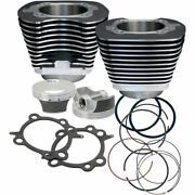 Sands Cycle 106 Big Bore Engine Pistons Cylinders Kit Harley Softail Dyna Touring