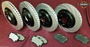 Hsv Ve Clubsport R8 Gts Maloo Complete Brake Package Rotors And Pads Front + Rear